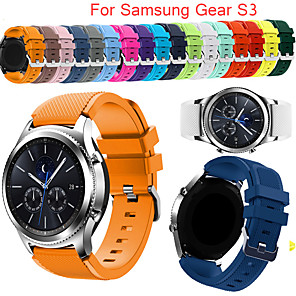 cheap Smartwatch Bands-Gear S3 Frontier Strap For Samsung Galaxy watch 20 22mm watch band correa huawei watch gt active strap gear sport band