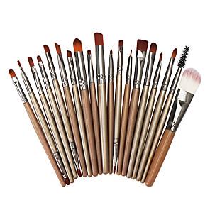cheap Makeup Brush Sets-Professional Makeup Brushes 20pcs Full Coverage Plastic for Eyeliner Brush Foundation Brush Makeup Brush Lash Brush Eyebrow Brush Eyeshadow Brush