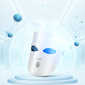 cheap Skin Care-K-SKIN KD036 Photon LED Facial Mask Face Mask Light Therapy Skin Rejuvenation Skin Care Anti Acne Wrinkle Removal Massage 3 Colors