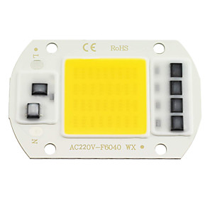 cheap Light Bulbs-ZDM 1PC LED COB Chip 20W 30W 50W AC220V Warm White/Cold White Light Engine Integrated Smart IC Driver