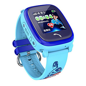cheap Smartwatches-Smartwatch Digital Modern Style Sporty Silicone 30 m Water Resistant / Waterproof Heart Rate Monitor Bluetooth Digital Casual Outdoor - Purple Blue