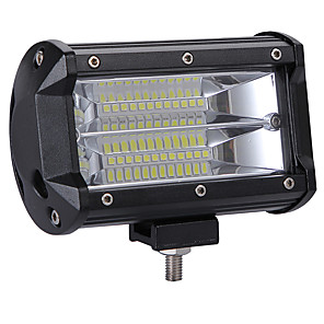 cheap Security Accessories-Professional High Power 240W LED 2 Rows 5inch Work Light Bar Driving Lamp  Color Temperature 6000K Package 1PC