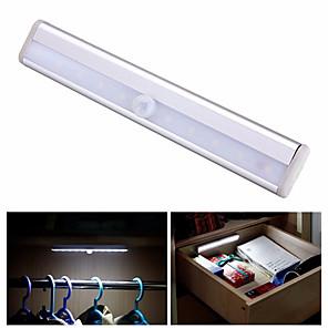 cheap LED Cabinet Lights-10LED Sensor Closet Cabinet LED Under Cabinet Lighting Cupboard Kitchen Cabinet Light