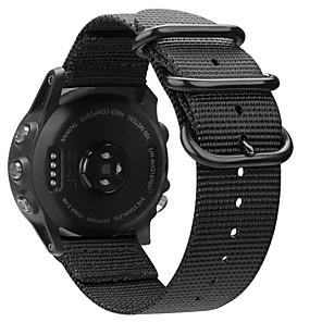 cheap Smartwatch Bands-Watch Band for Fenix 5x / Fenix 3 HR / Fenix 3 Garmin Business Band Fabric Wrist Strap