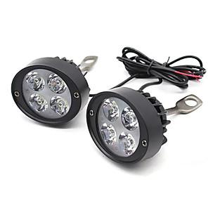 cheap Motorcycle Lighting-9-90V Bright Motorcycle Headlight Motorbike 1200LM Front Fog Light