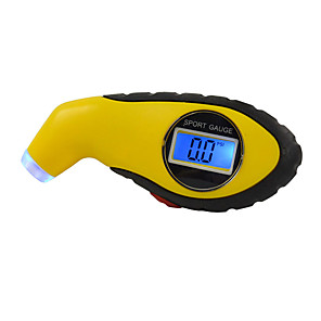 cheap Vehicle Tire Gauges-Car Tire Pressure Gauge for universal All years Universal Gauge Warning