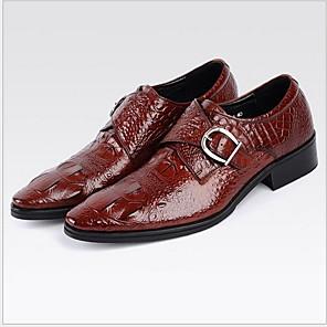 cheap Men's Oxfords-Men's Comfort Shoes Synthetics Summer Oxfords Breathable Black / Wine