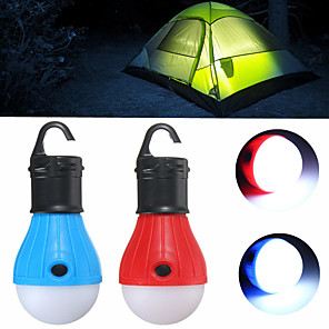 cheap Phone Mounts & Holders-Lanterns & Tent Lights Mini Small 60 lm LED Emitters 3 Mode Mini Emergency Small Camping / Hiking / Caving Everyday Use Multifunction Yellow Green Red