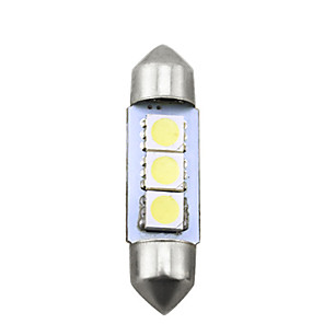 cheap License Plate Lights-10pcs LED Integrated Car Light Bulbs SMD 5050 3 LED License Plate Lights For universal All years