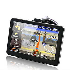 economico Lettori DVD per auto-Navigatore GPS da 7 pollici 256mb 8 gb hd windows ce 6.0 touch screen auto camion gps