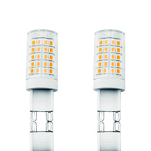 cheap LED Bi-pin Lights-2pcs 6 W LED Corn Lights LED Bi-pin Lights 700 lm G9 T 64 LED Beads SMD 2835 Dimmable Warm White White 110-130 V 200-240 V