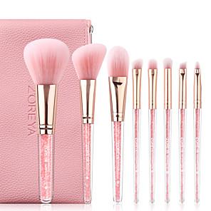 cheap Makeup Brush Sets-Professional Makeup Brushes 8pcs Cute Soft New Design Adorable Comfy Plastic for Makeup Brush