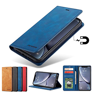 cheap Portable Speakers-Forwenw Leather Case For Samsung Galaxy A70 A50 A40 A30 A20 A10 A90 A20E A7 2018 A8 2018 Phone Case Leather Flip Wallet Magnetic Cover With Card