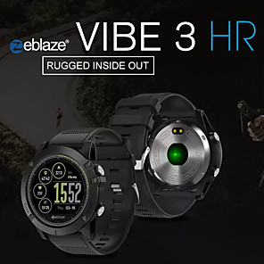 cheap Smartwatches-Zeblaze VIBE 3 HR Smart Watch BT Fitness Tracker Support Notify/Heart Rate Monitor Sport Long Standby Smartwatch Compatible IOS/Android Phones