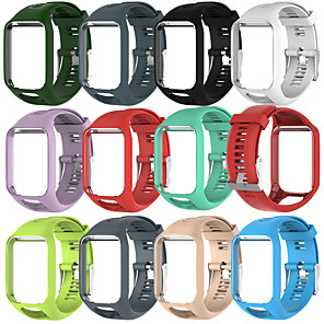 cheap iPhone Cases-Watch Band for TomTom Runner 2 TomTom Sport Band Silicone Wrist Strap