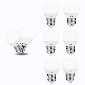 cheap Mobile Phone Sterilizer-EXUP® 6pcs 6 W LED Globe Bulbs 540 lm E26 / E27 P45 12 LED Beads SMD 2835 Creative Party Decorative Warm White Cold White 220-240 V 110-130 V