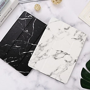 cheap iPad case-Case For Apple iPad Mini 3/2/1 / iPad Mini 4 / iPad Mini 5 with Stand / Flip Full Body Cases Marble PU Leather