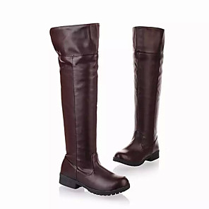cheap Anime Costumes-Cosplay Shoes Attack on Titan Armin Arlert / Eren Jager / Erwin Smith Anime Cosplay Shoes PU Leather / Polyurethane Leather Men's / Women's 855