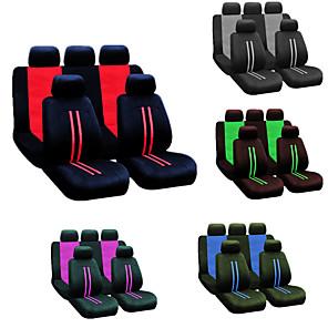 cheap Car Headrests&Waist Cushions-9pcs/set Universal Car Seat Cover Four Seasons Full Seat Cover Protector Decoration