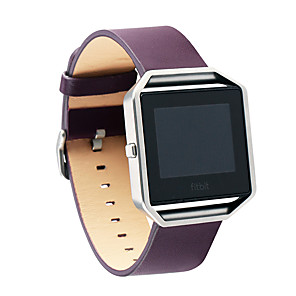 cheap Smartwatch Bands-Watch Band for Fitbit Blaze Fitbit Business Band Genuine Leather Wrist Strap
