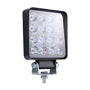 cheap Car Rear View Camera-4inch Super Slim Square 160W Spotlight Beam Led Work Light Driving Fog Lights Lumens16000LM Package1PCS