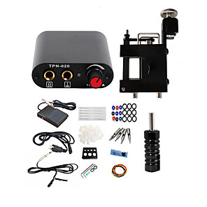 cheap Professional Tattoo Kits-BaseKey Professional Tattoo Kit Tattoo Machine - 1 pcs Tattoo Machines, Professional Aluminum Alloy 20 W 1 rotary machine liner & shader