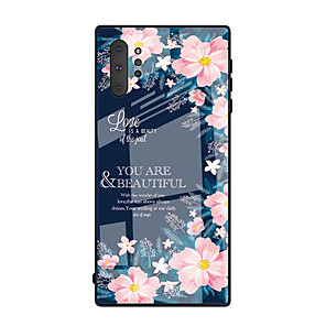 cheap Samsung Case-Case For Samsung Galaxy S9 / S9 Plus / S8 Plus Pattern Back Cover Tile TPU
