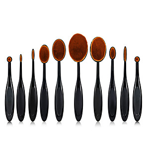 cheap Makeup Brush Sets-Professional Makeup Brushes 10pcs Soft New Design Full Coverage Lovely Comfy Plastic for Makeup Set Makeup Tools Makeup Brushes Eyeliner Brush Blush Brush Foundation Brush Makeup Brush Lip Brush