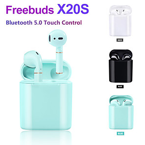 cheap TWS True Wireless Headphones-LITBest X20S TWS True Wireless Earbuds Wireless Earbud Bluetooth 5.0 Stereo with Microphone with Charging Box