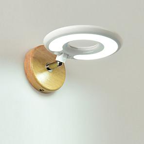 povoljno Zidni svijećnjaci-zidne svjetiljke od masivnog drveta podesive ljupke zidne svjetiljke modernog / nordijskog stila& svjetiljke / ljuljačka za ruke svjetlo spavaća soba / radna soba / uredsko metalno zidno