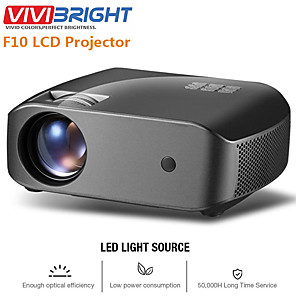cheap Projectors-vivibright F10 LED Projector 2800 lm Android / 1080P (1920x1080)