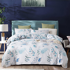 cheap Contemporary Duvet Covers-Duvet Cover Sets  Polyester  Printed 3 Piece Bedding Sets
