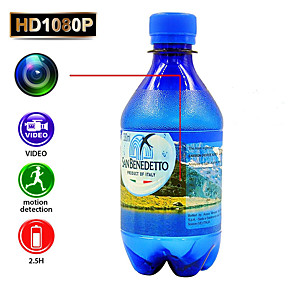 cheap CCTV Cameras-Full HD 1080P Security Camera DVR Water Bottle Camcorder with Motion Detection Function