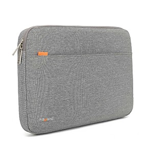 cheap Sleeves,Cases & Covers-13.3 14 15.6 Waterproof Nylon Solid Color Shock Proof Laptop Cover Sleeves Shakeproof Case for Surface/Macbook/HP/Dell/Samsung/Sony Etc Gray