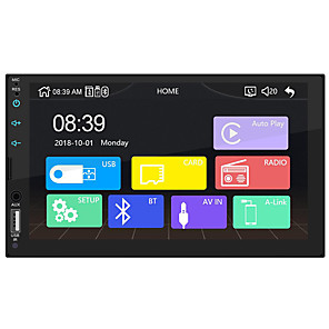 cheap Car DVD Players-SWM-X2 7 inch Windows CE Car MP5 Player HD Touch Screen Car Stereo Radio USB Link for Apple CarPlay
