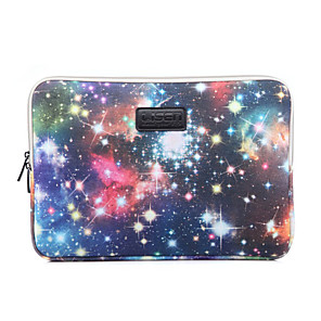 cheap Sleeves,Cases & Covers-LiSEN 13.3 Inch Laptop / 14 Inch Laptop / 15.6 Inch Laptop Sleeve Nylon Fiber Galaxy Unisex Water Proof Shock Proof