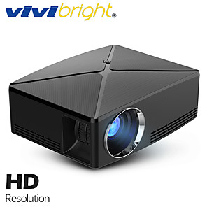 cheap Projectors-vivibright C80UP LCD Projector 2800 lm Android Support / 4K