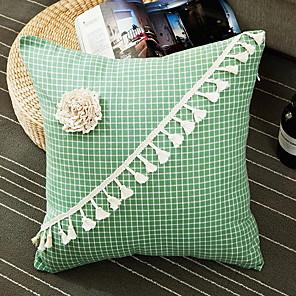 cheap Pillow Covers-2 pcs Polyester Pillow Cover, Floral Modern Throw Pillow