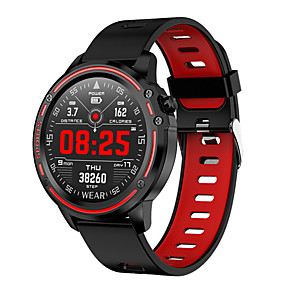 cheap Smartwatches-Smartwatch Digital Modern Style Sporty Silicone 30 m Water Resistant / Waterproof Heart Rate Monitor Bluetooth Digital Casual Outdoor - Black Green Red