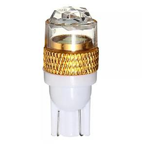 cheap Side Marker Lights-T10 W5W 5630 LED Car Wedge Side Light 2 SMD White 6000K 168 194 12V