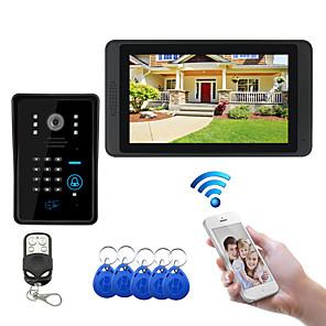 cheap Video Door Phone Systems-WIFI 7 inch Hands-free 1024*600 Pixel One to One video doorphone