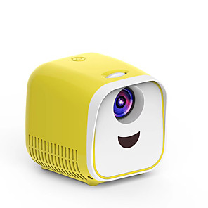 cheap Projectors-L1 LED Projector 1000 lm Other Support