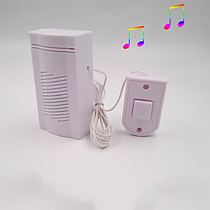 cheap Doorbell Systems-Dingdong Wired Doorbell Electronic Doorbell Home With Line Old-fashioned Simple Sound Crisp