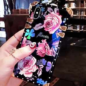 cheap Other Phone Case-Case For Samsung Galaxy S9 / S9 Plus / S8 Plus/S8/S10/S10E/S10 Plus/Note8/Note9/M10/M20/M30 Shockproof / Pattern Back Cover Word / Phrase / Armor / Flower Metal