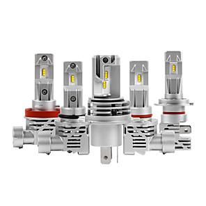 cheap Car Headlights-55W Canbus Error Free H7 Car LED Headlight Bulbs H4 10000LM 6000K Xenon White H8 H9 H11 9005 9006 H1 H3 Super Bright LED Headlights