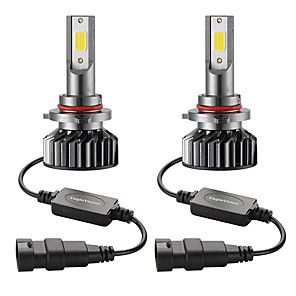 cheap Car Headlights-2PCS Mini Car LED Headlight Bulb  9005/HB3  Hi/Lo 72W 10000LM 6000K Car Headlamp