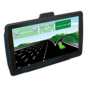 cheap Car DVD Players-7 inch 8GB Windows CE 6.0 Capacitive Touch Screen Car/Truck HD GPS Navigator
