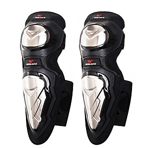 cheap Protective Gear-Knee Brace for Backcountry / Motorsports / Motobike / Motorcycle Unisex Protection / Easy dressing / Fits left or right knee Motorcycle / Bike Stainless steel / Velvet / EVA 1 Pair Black