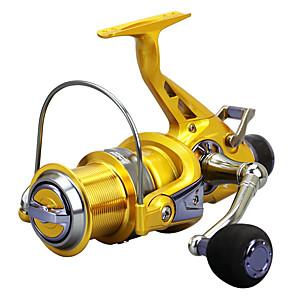 cheap Fishing Reels-Fishing Reel Spinning Reel / Sea Fishing Reel 5.2:1 Gear Ratio+14 Ball Bearings Hand Orientation Exchangable Sea Fishing / Spinning / Carp Fishing