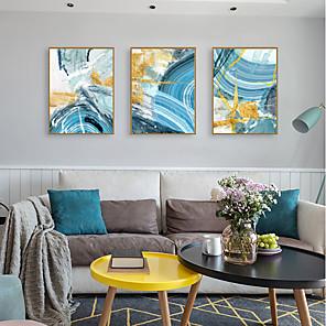 cheap Framed Arts-Framed Art Print Framed Set - Abstract PS Oil Painting Wall Art